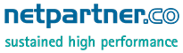 netpartner.co | sustained high performance Logo